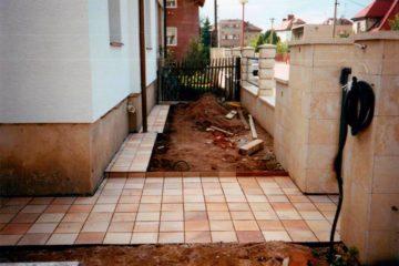 Venkovní dlažby a chodníky